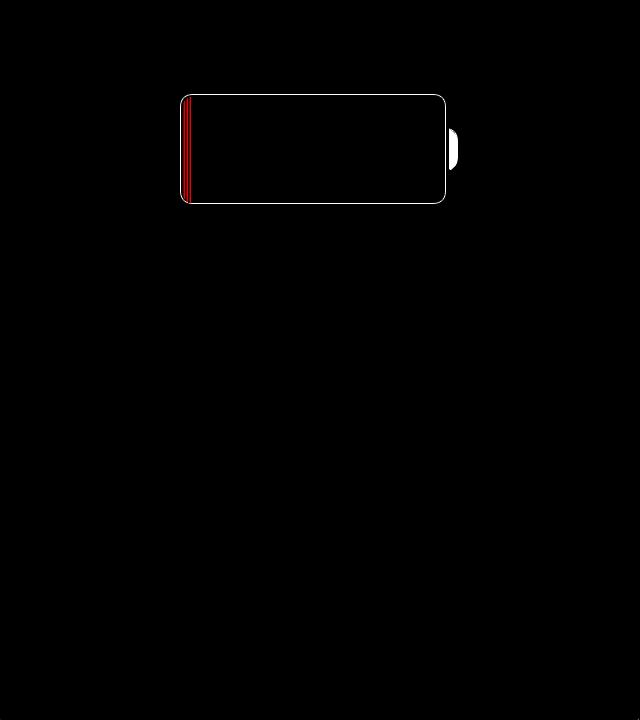 Зарядка на Айфон в выключенном состоянии идет