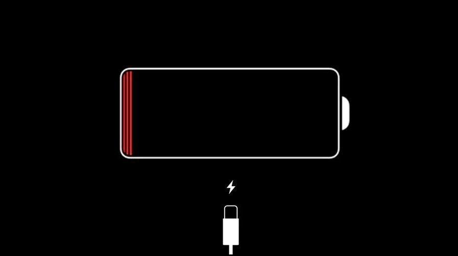 Зарядка на Айфон в выключенном состоянии не идет